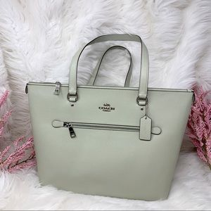 Coach Pale Green Gallery Tote